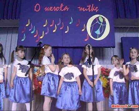 """Festiwal piosenki dziecięcej """"O wesołą nutkę"""""""